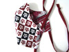 Texas A&M Mask in Texas A&M Checkers Fabric