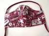 Texas A&M Mask in Texas A&M License Plates Fabric
