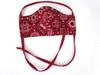 Red Bandana Print Mask