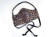 Face Mask - Leopard and Black (FM-LEOPARD-BLACK)