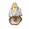 Rochard BUDDHA WITH REMOVABLE GOLD LOTUS FLOWER