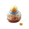 BUDDHA WITH REMOVABLE GOLD LOTUS FLOWER RR225-K