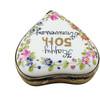 HAPPY 50th ANNIVERSARY HEART Limoges Box - RH239