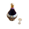 Chianti In Basket with Wine Glass Limoges Box RW096
