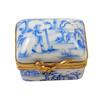 Blue Toile Limoges Box RE259