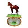 Standing Mini Horse Rochard Limoges Box