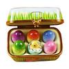 Easter Egg Box W/Eggs Rochard Limoges Box RO046-J