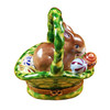 Rabbit Basket/Easter Eggs Rochard Limoges Box