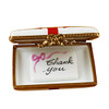 Gift Box With Red Bow - Thank You Rochard Limoges Box RO184-H