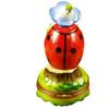 Ladybug W/Book Rochard Limoges Box