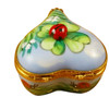 Ladybug On Heart Rochard Limoges Box