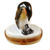 Penguin W/Baby Rochard Limoges Box