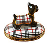 Scottish Terrier - Burberry Rochard Limoges Box