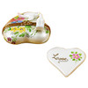 Heart W/Two Doves Rochard Limoges Box