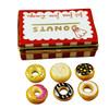 Donut Box W/Six Donuts Limoges Box RK145-J