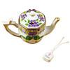 Teapot-Butterfly Rochard Limoges Box