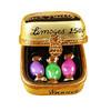 Bonbon W/Three Candies Rochard Limoges Box