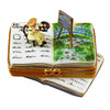 Book Monet/Water Lilies Rochard Limoges Box RN040-N
