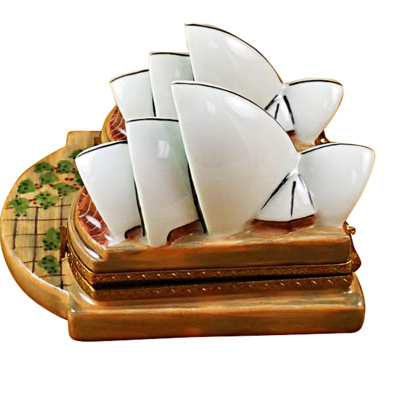 Sydney Opera House Rochard Limoges Box
