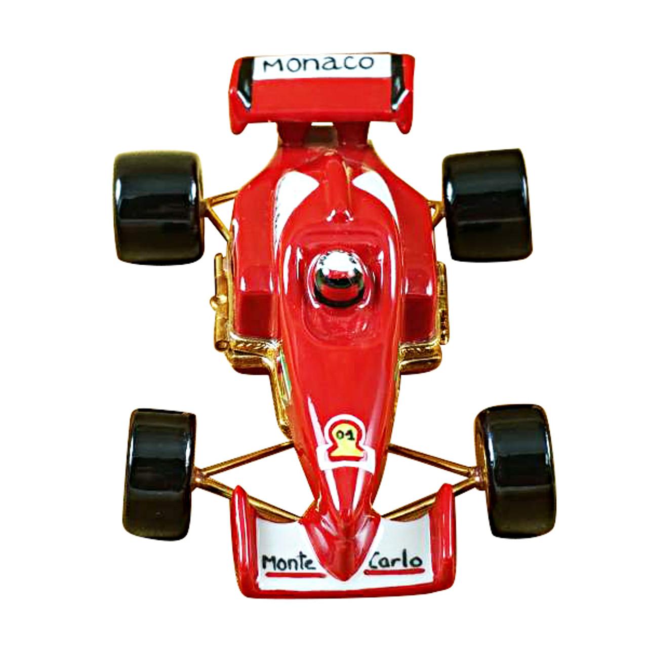 Formula One Race Car Rochard Limoges Box