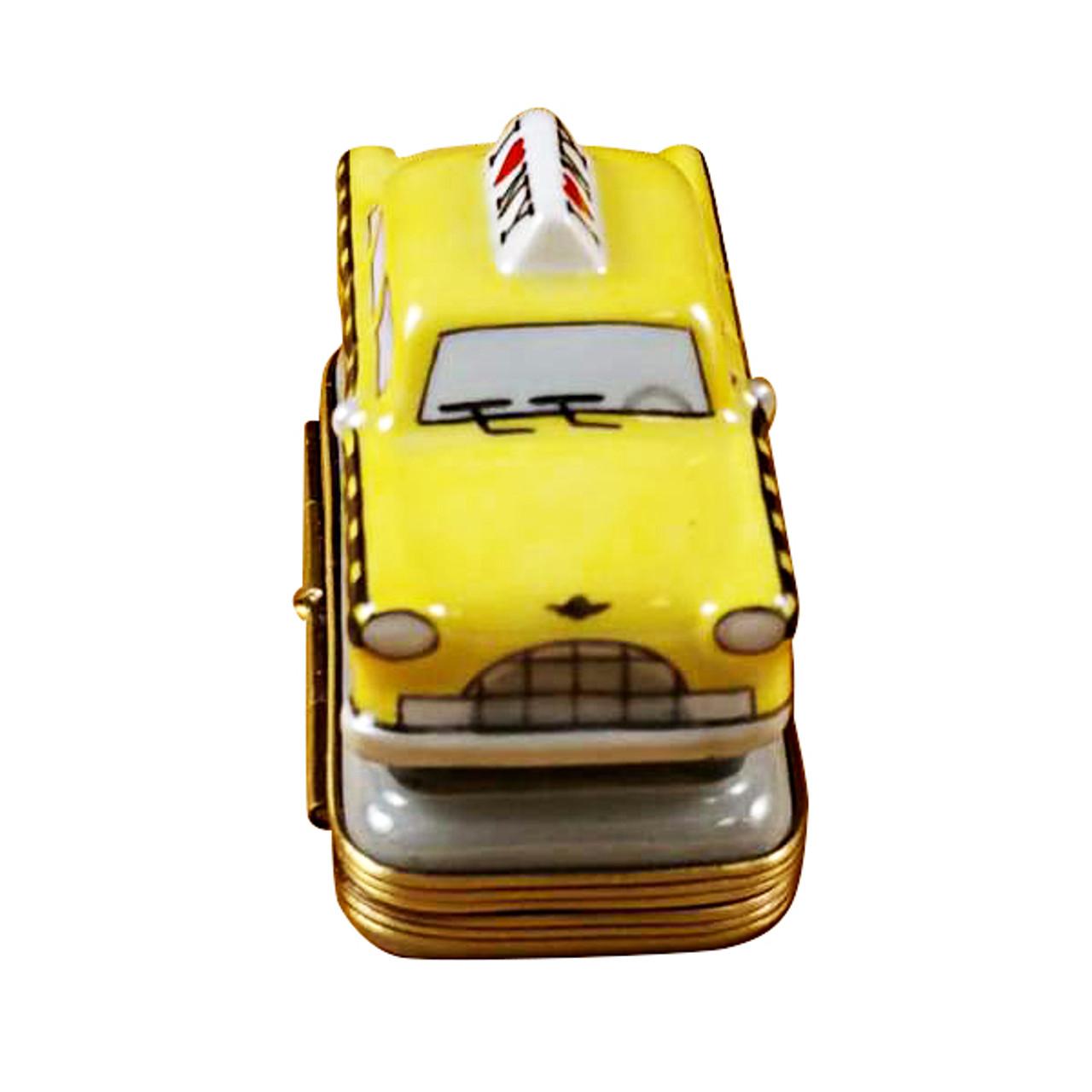 Yellow Taxi - I Love New York Rochard Limoges Box