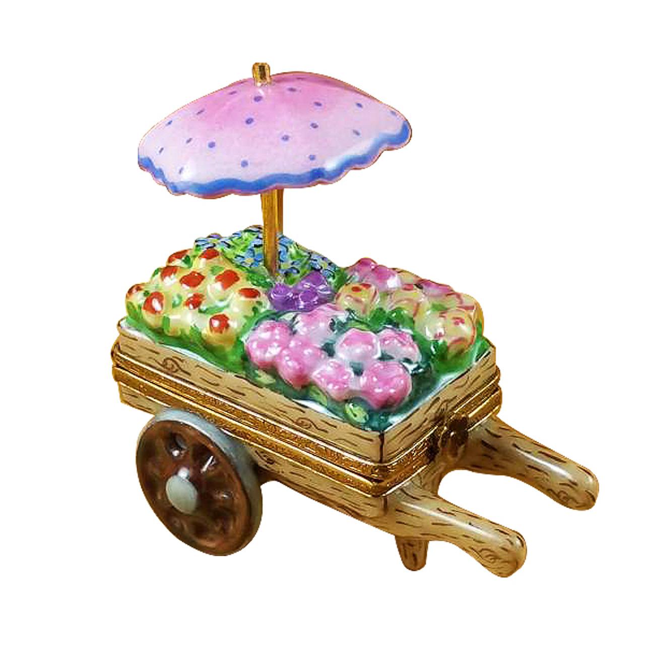 Flower Cart Rochard Limoges Box