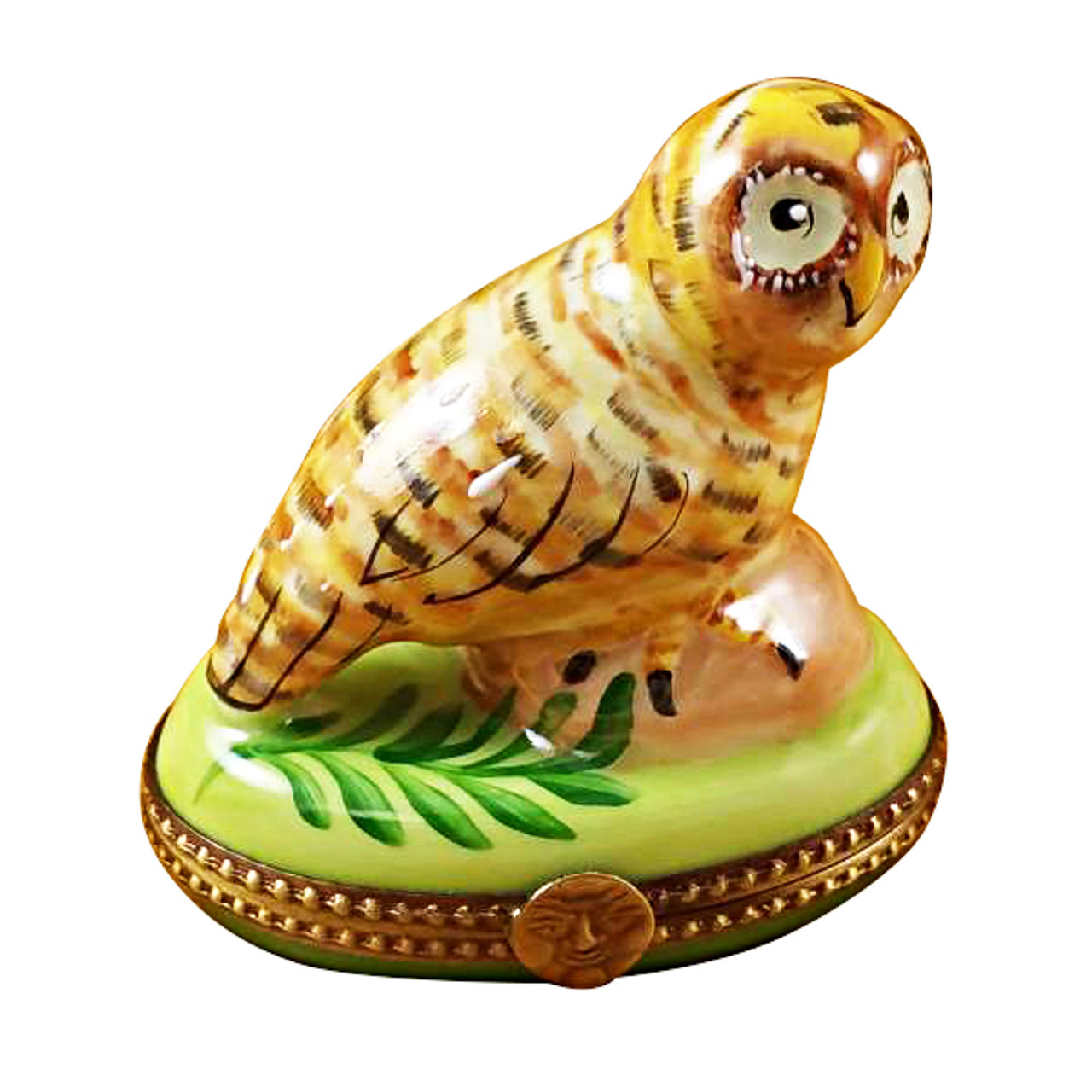 Limoges Imports Spotted Owl Limoges Box