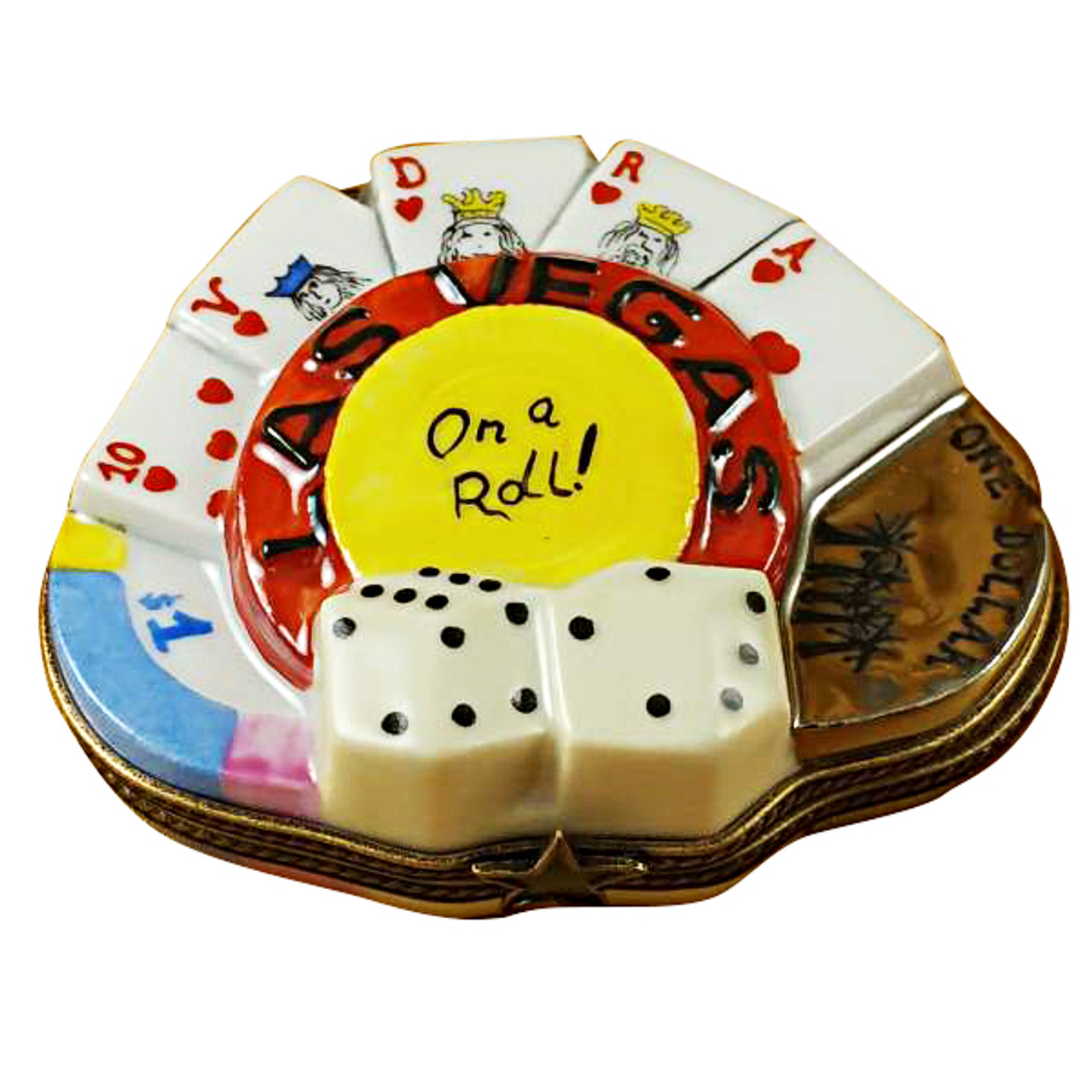 Limoges Imports Las Vegas On A Roll Limoges Box