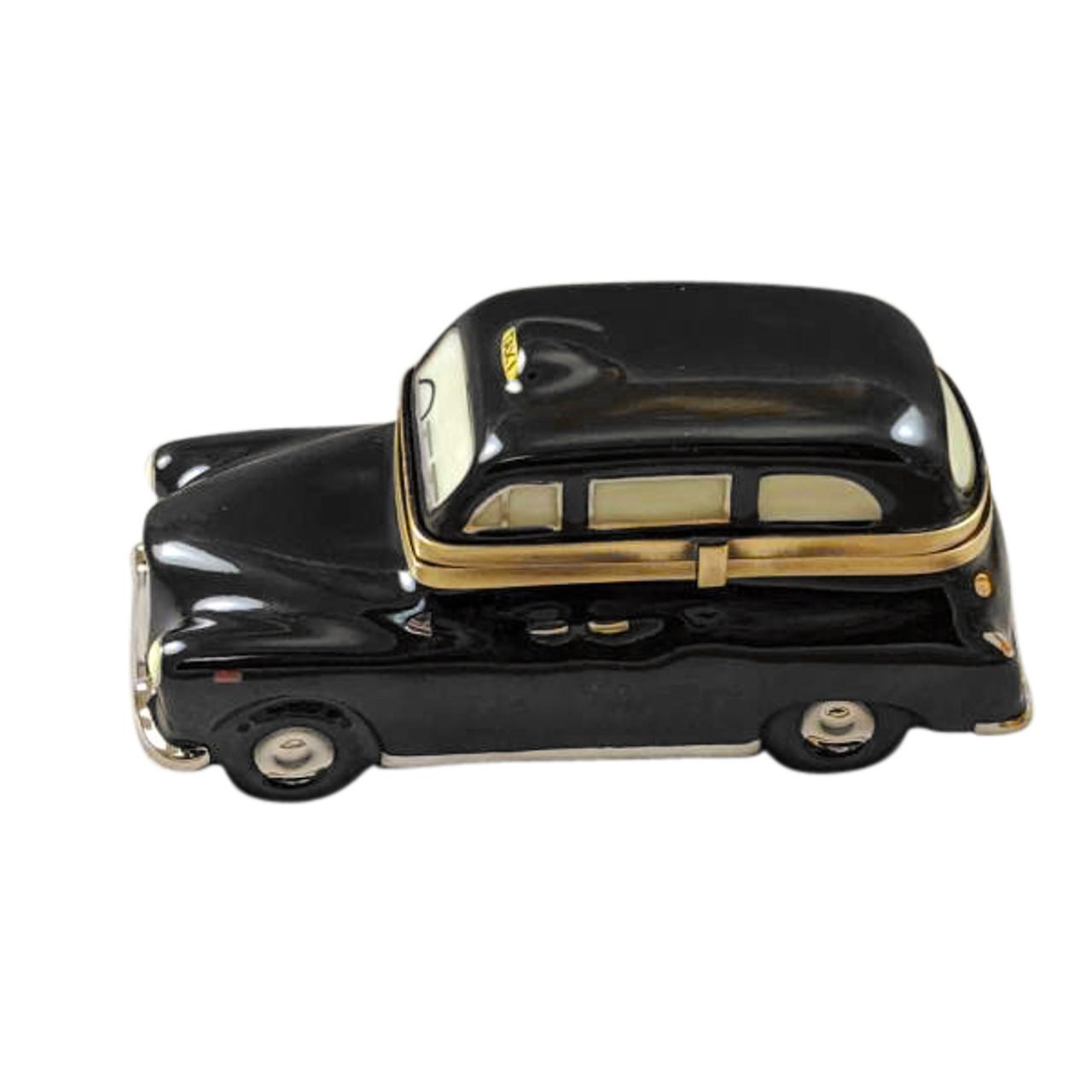 London Black Taxi Limoges Box