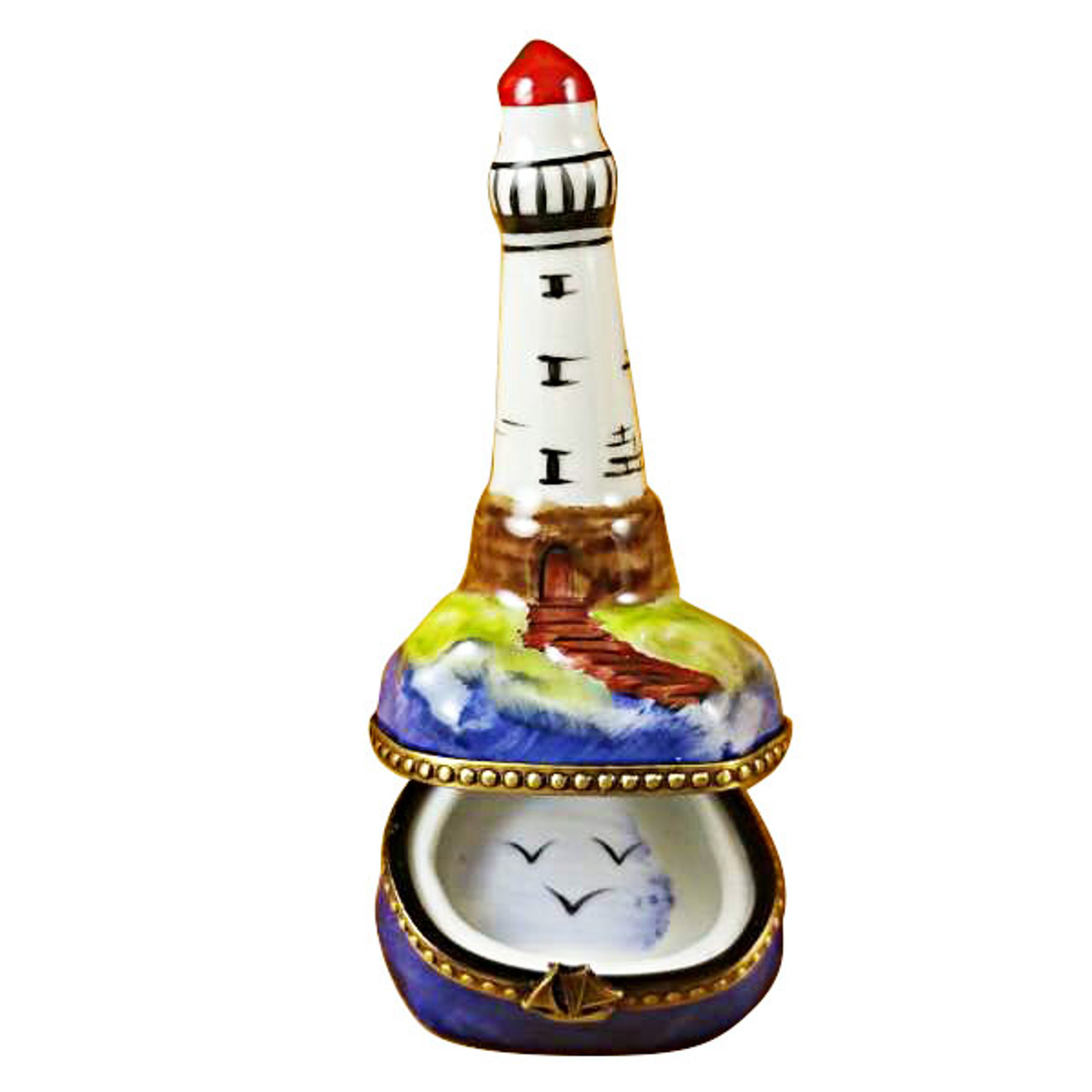 Limoges Imports Small Lighthouse Limoges Box