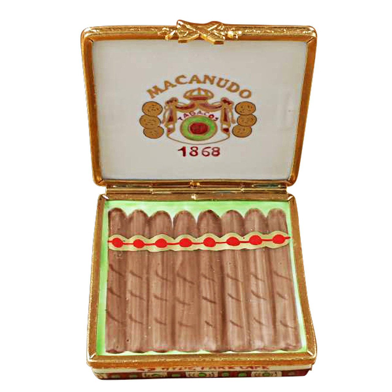 Limoges Imports Cigar Box Limoges Box