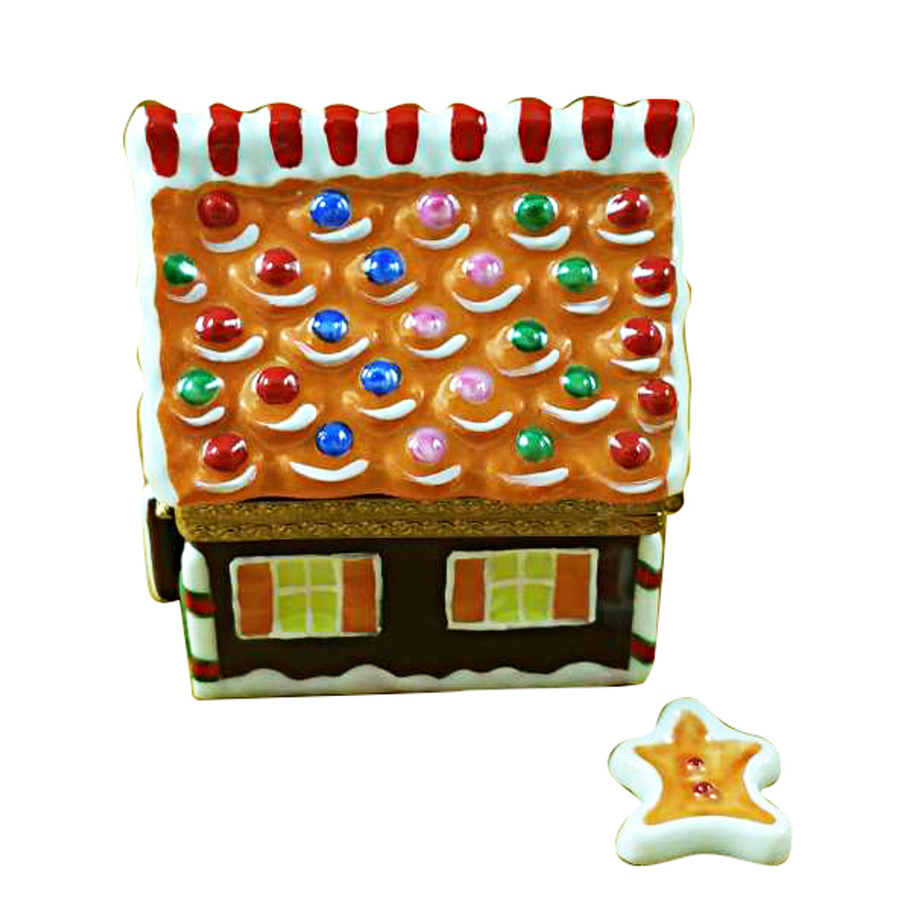 Gingerbread House Limoges Box