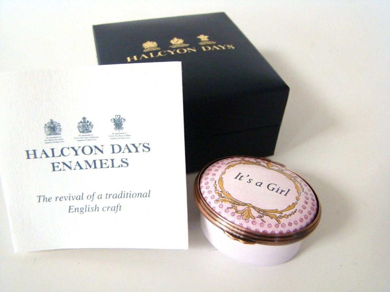 Halcyon Days It's A Girl ENGIR2646B