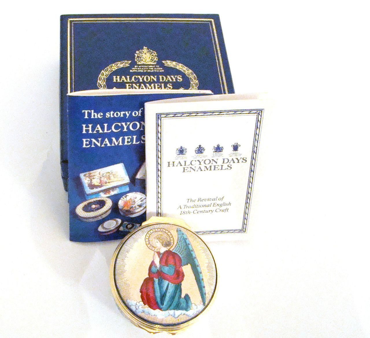 Halcyon Days Neiman Marcus 2000 Christmas Box