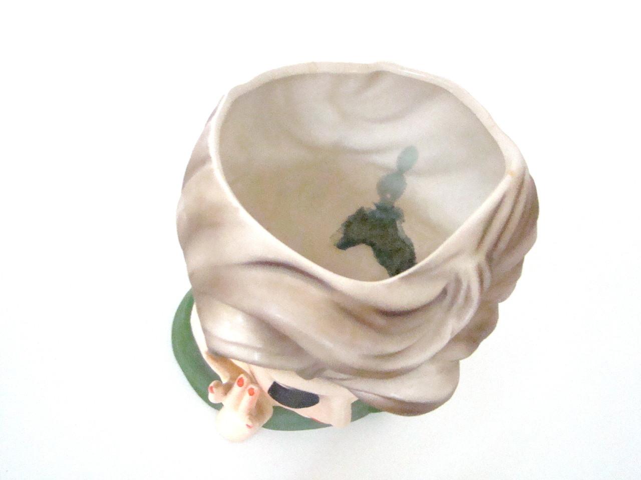 Vintage authentic Lady Head Vase Parma A-174