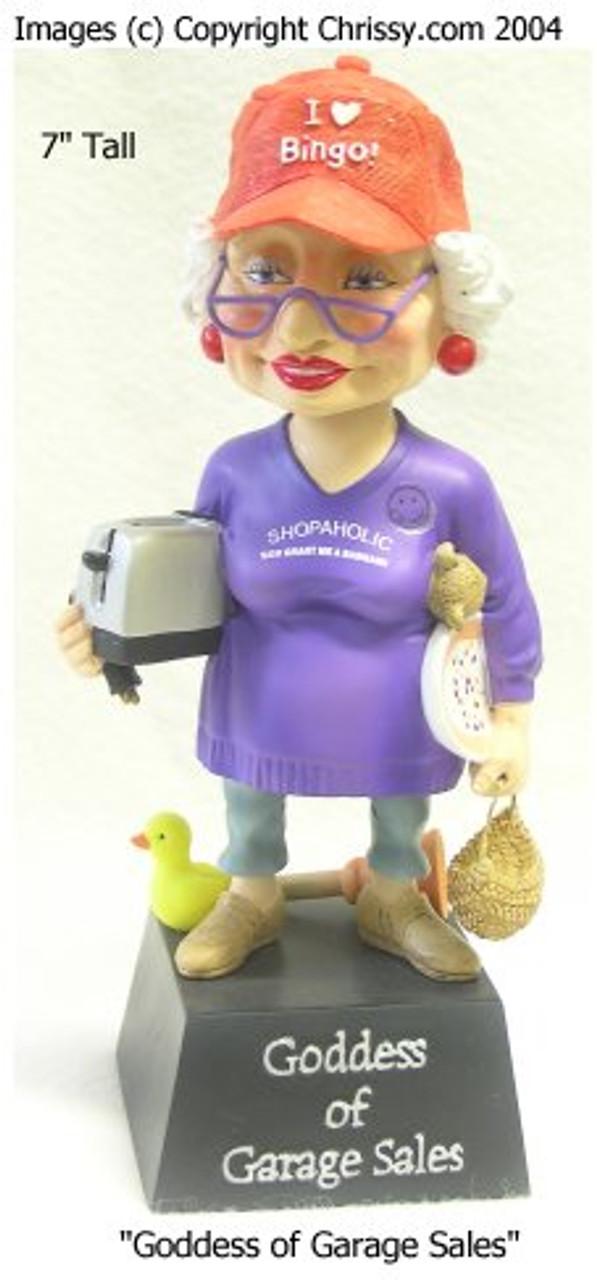 Garage Sale Goddess Bobble Figurine Biddy Biddys And Coots Christine S Closet