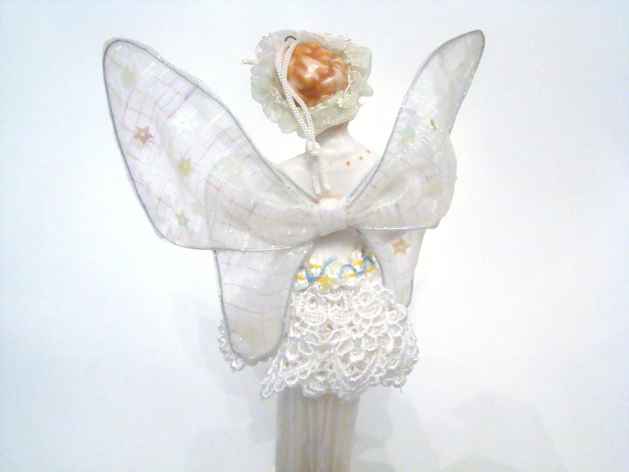 White Angel Fairy Tassel Doll