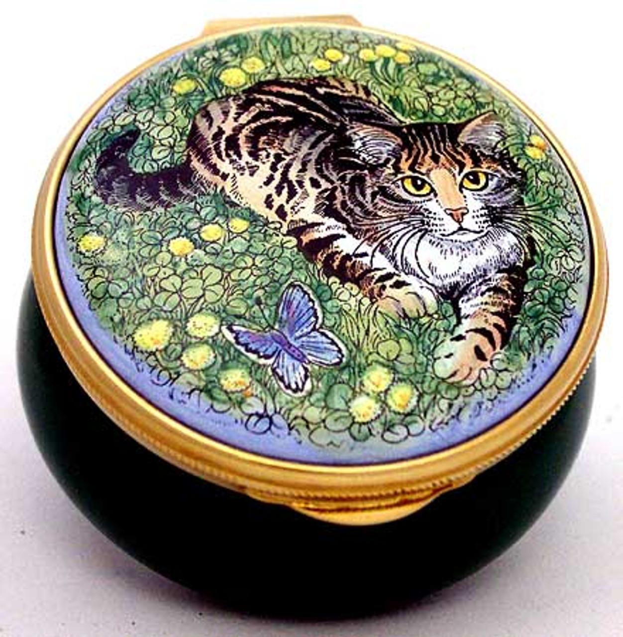 Staffordshire Tabby Cat