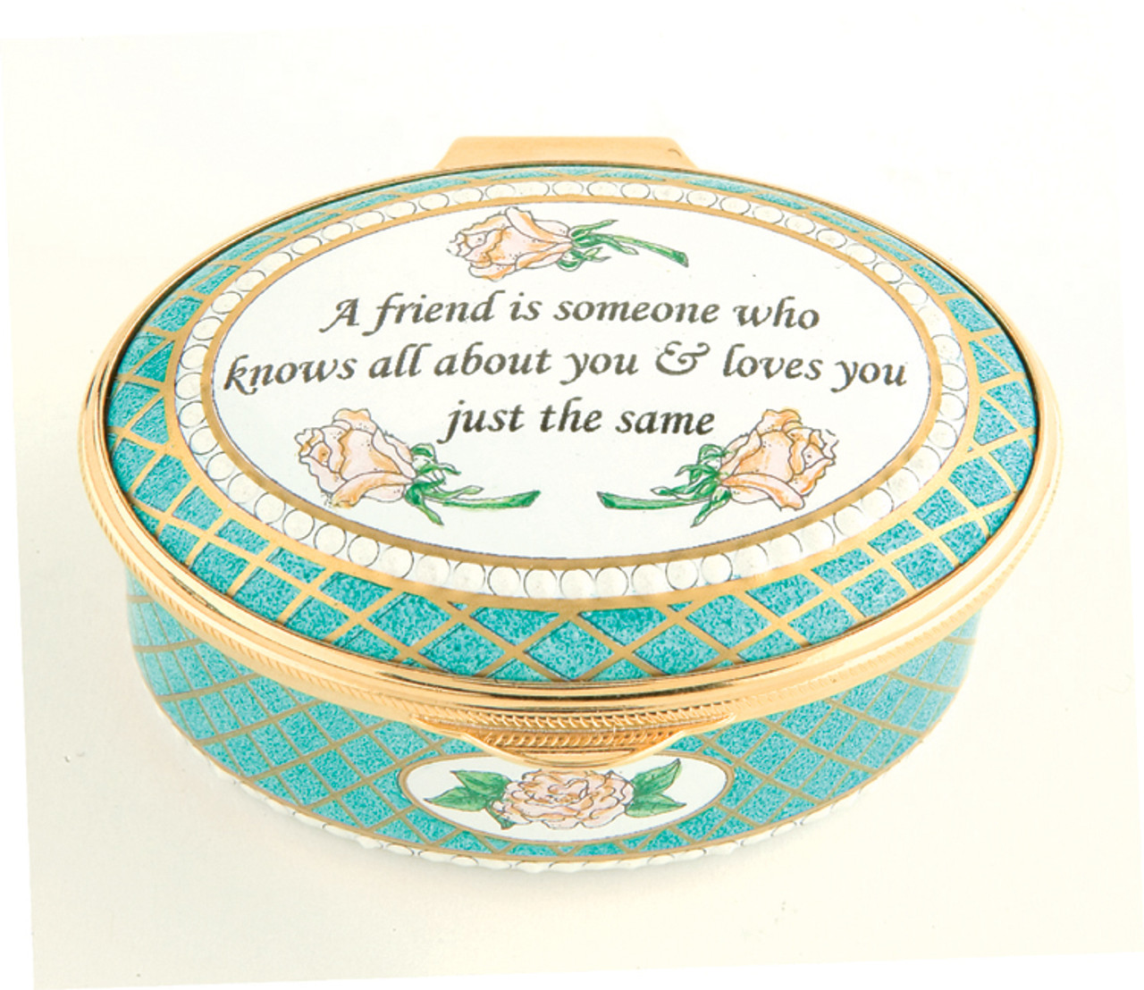 Staffordshire A Friend Is Someone Who Knows
