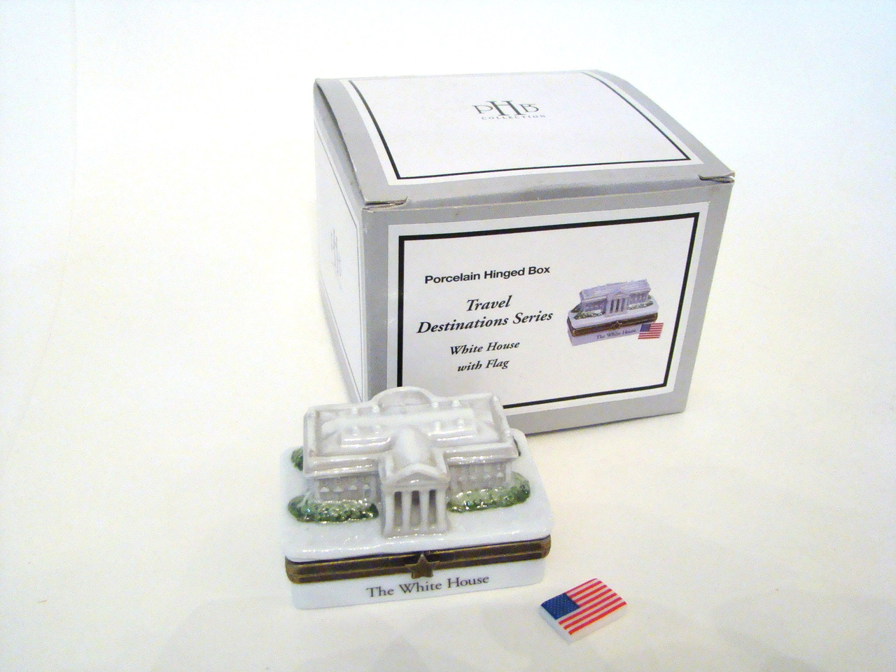 White House with Flag  PHB