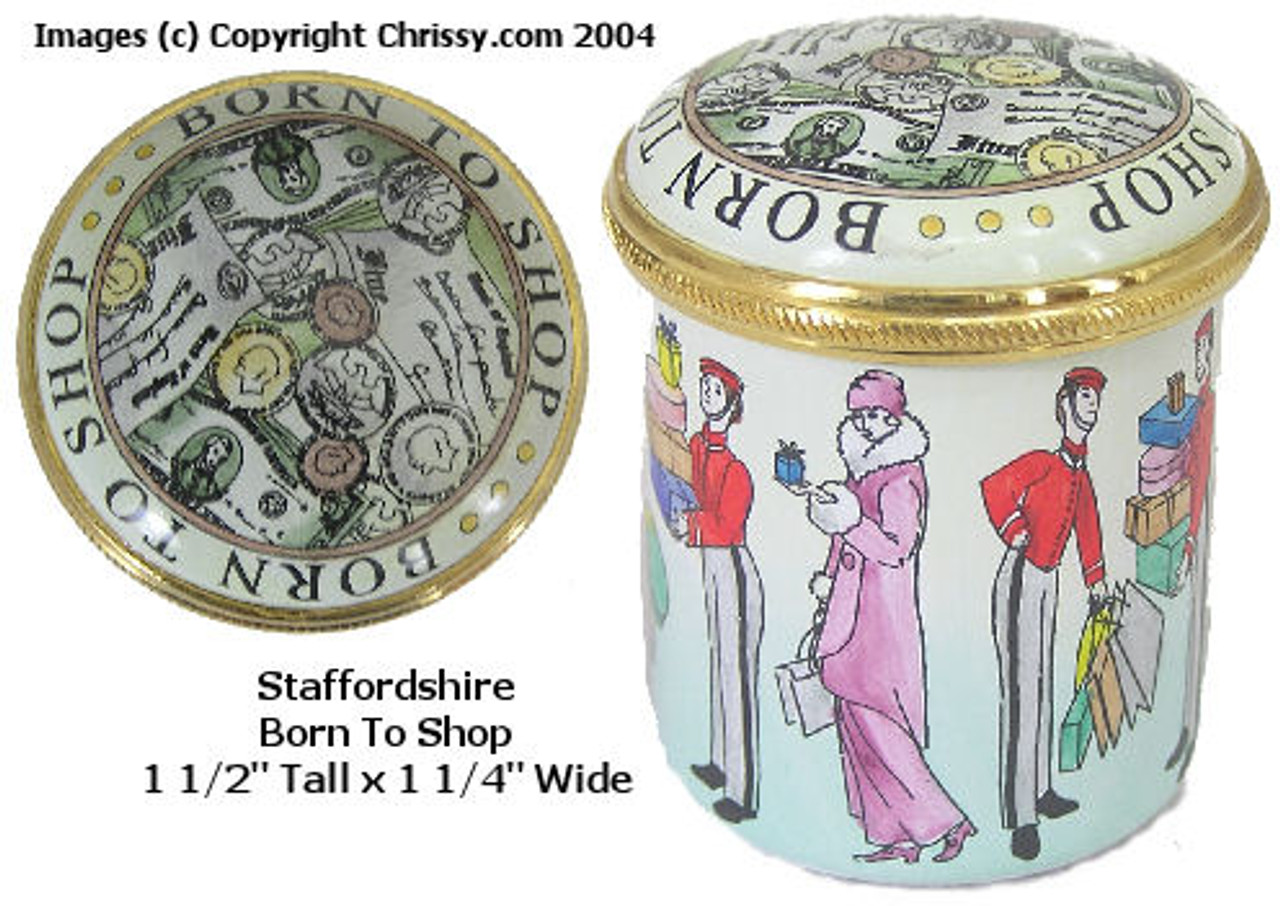 Staffordshire Born to Shop