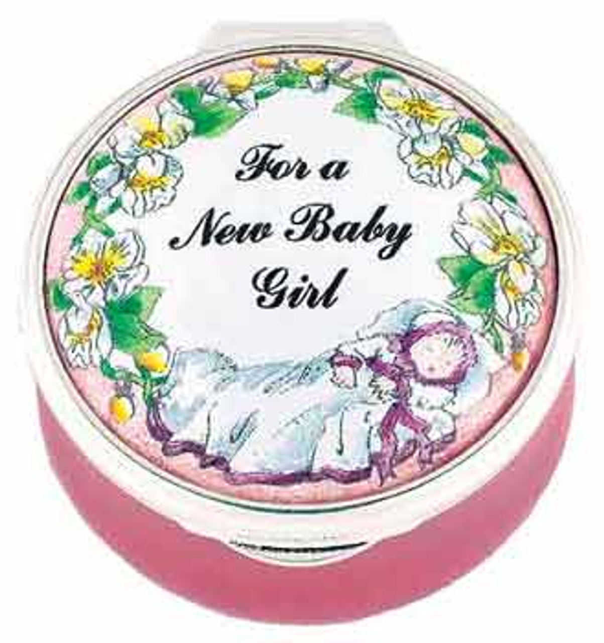Staffordshire For a New Baby Girl