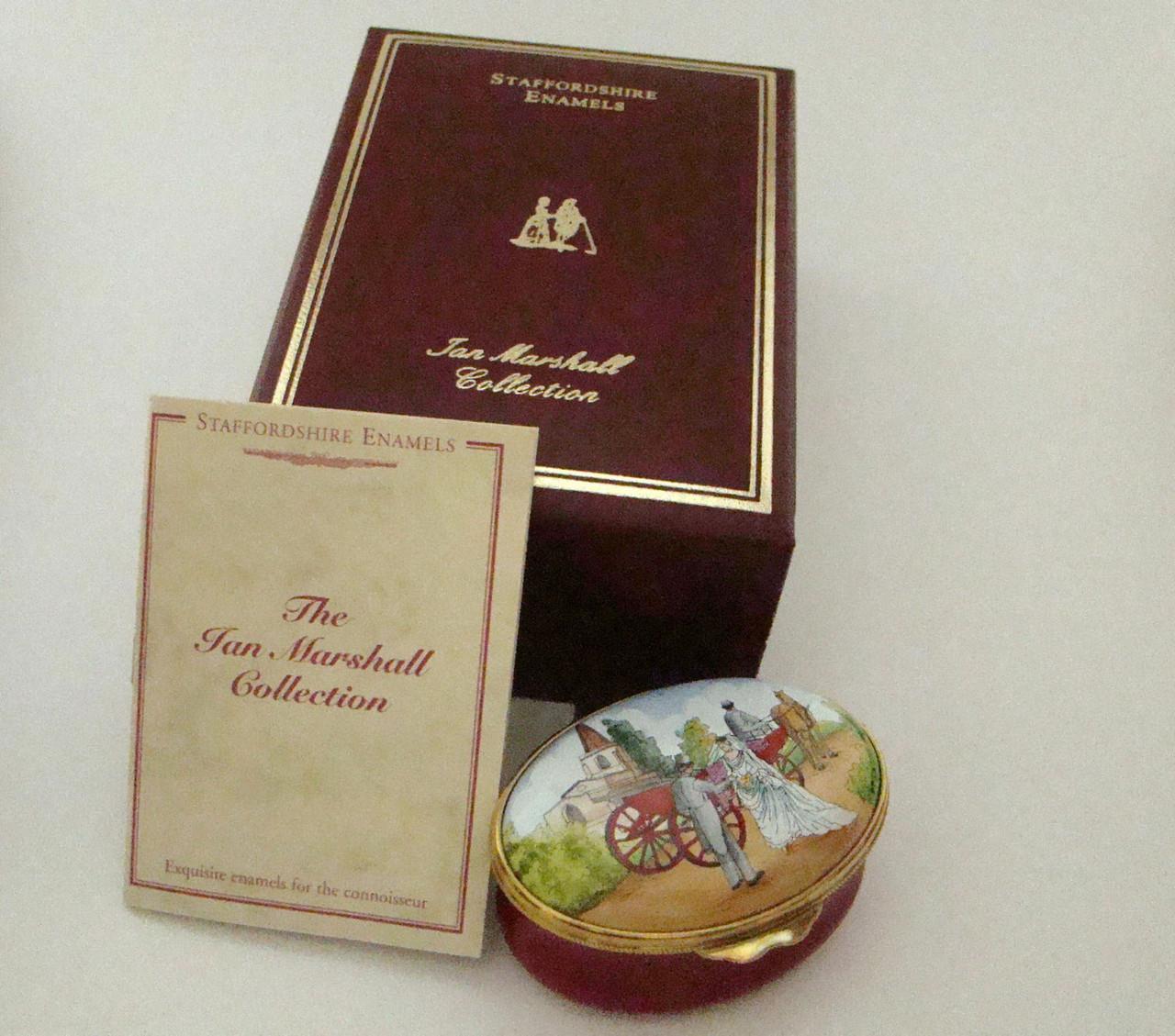 Staffordshire Wedding Box (21-192)