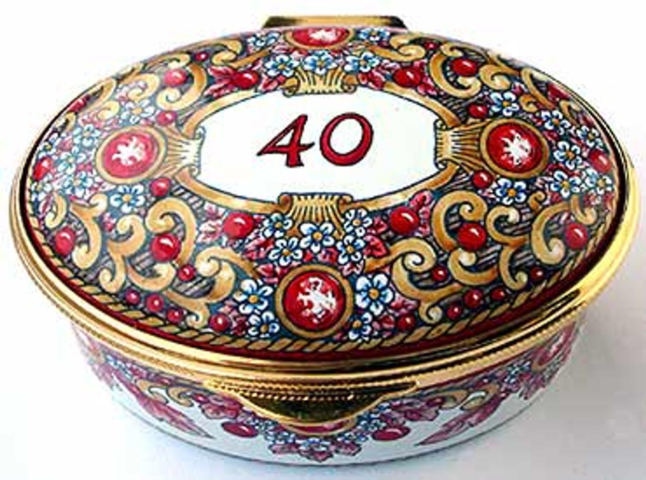 Staffordshire 40th
