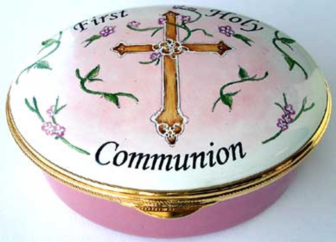 Staffordshire First Communion Pink