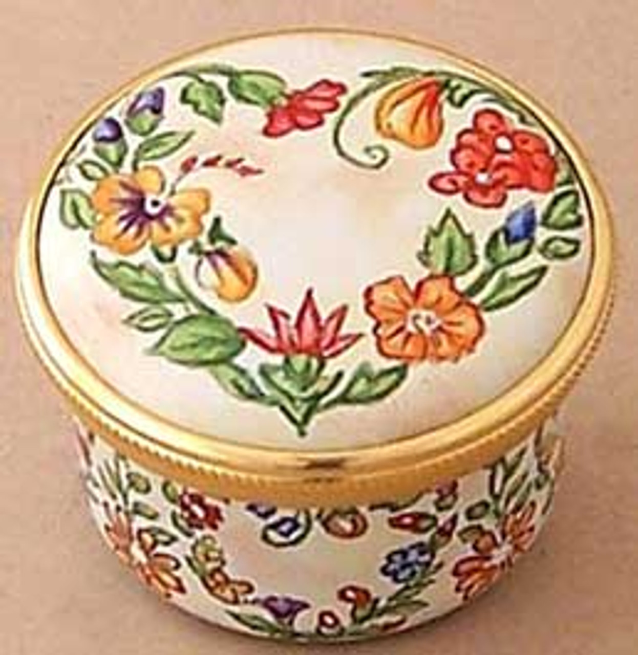 Staffordshire Floral Heart