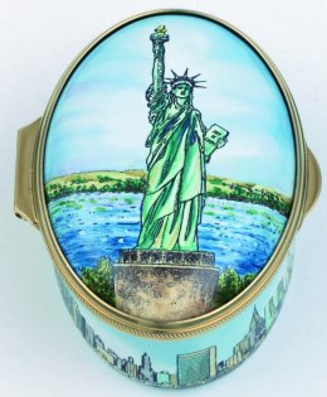 Staffordshire New York-Statue of Liberty