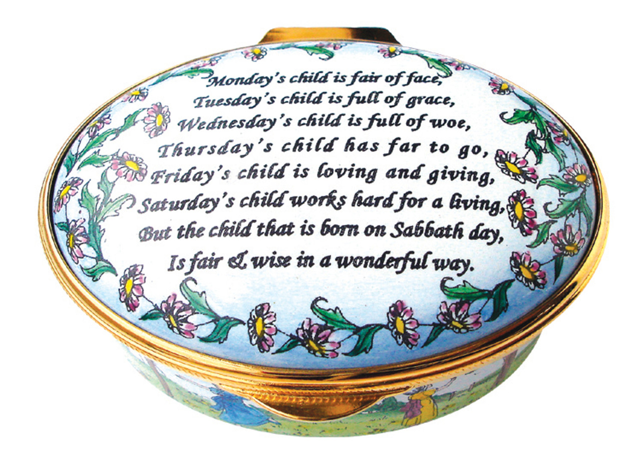 Staffordshire Monday's Child (22-191)