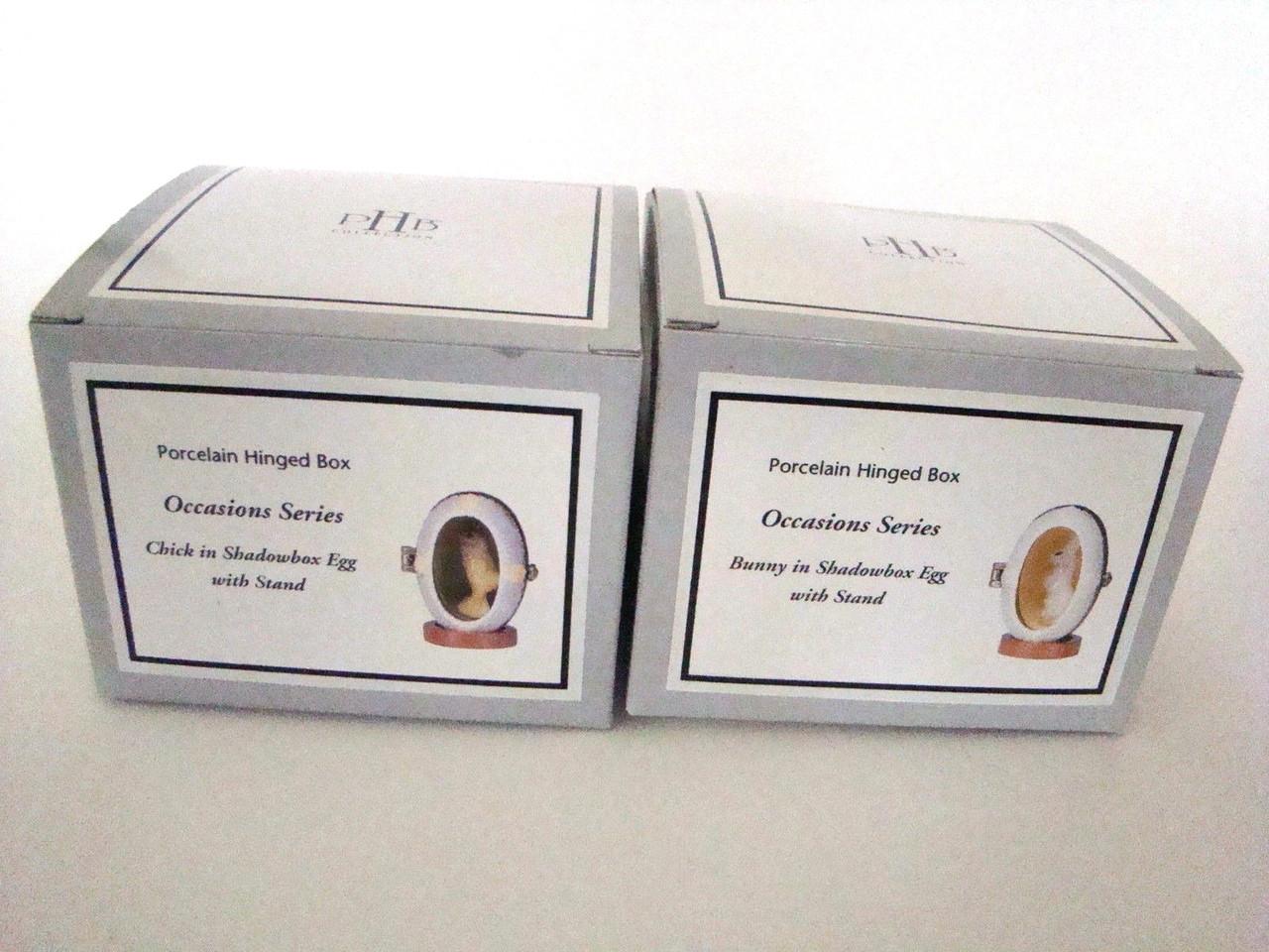Chick and Bunny Shadowbox Egg Set/2 (EasterShadowboxPHB-Set2)