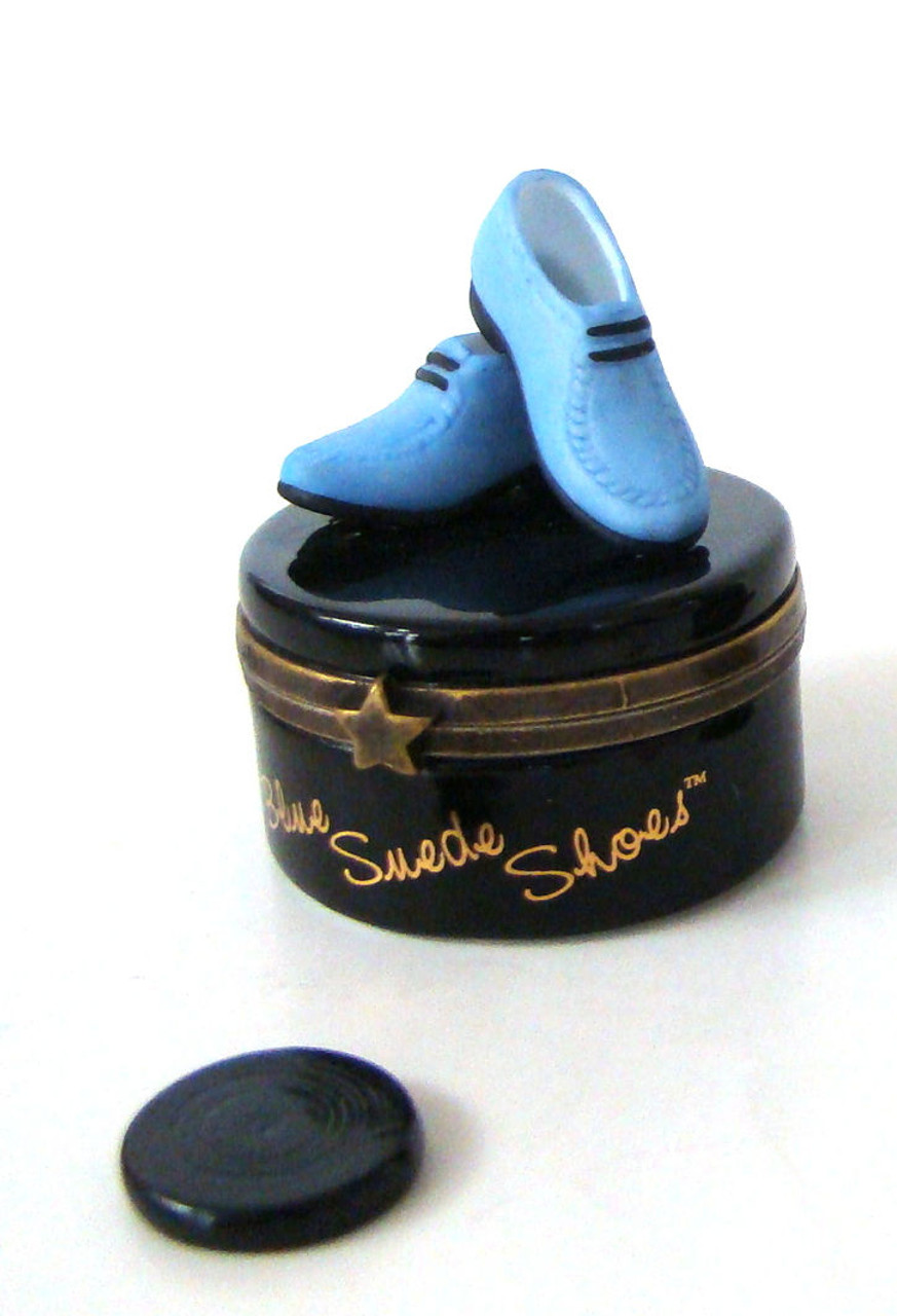 Elvis Blue Suede Shoes PHB
